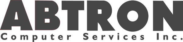 Abtron Computer Services Logo Grayed out