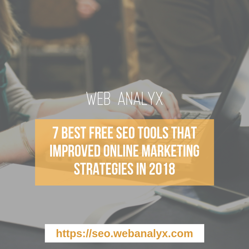 best free seo tools 2018
